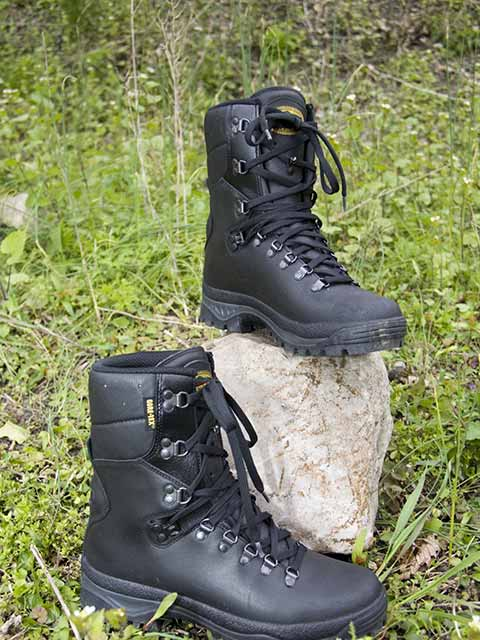 New French Combat Boots