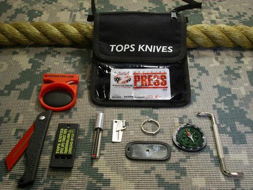 TOPS Knives Survival Neck Wallet