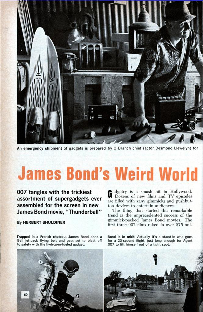 "Popular Science's ""James Bond's Weird World of Inventions"""
