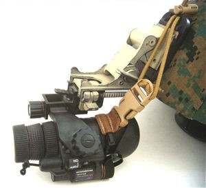 Down Range Gear's Night Vision Retention