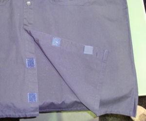 EOTAC Garage Shirt - lower button detail