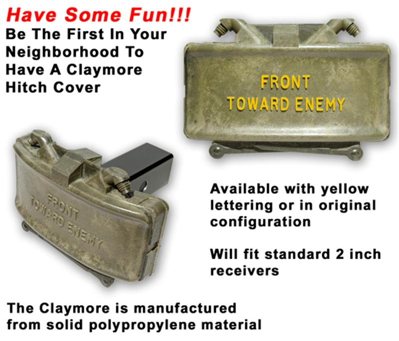 GG&G Claymore Hitch Cover