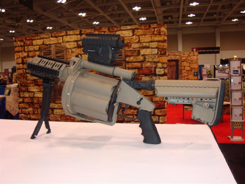 Milkor USA Mk14 Mod0 Multi-shot Grenade Launcher