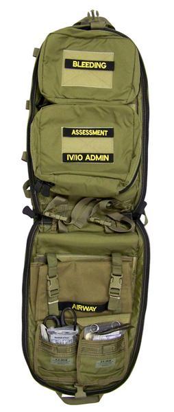S.O.Tech SLIVER Slimline Medical Backpack Contents