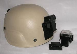 Cejay Engineering Poseidon mounted to a helmet