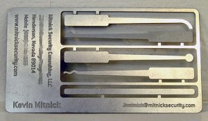 Kevin Mitnick's Business Card