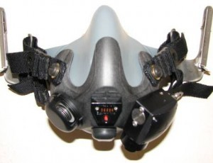 Phantom Parachutist Oxygen Mask