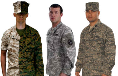US Military Utility Uniforms