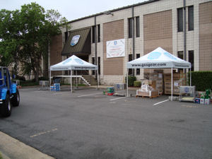 Front of GSS During Grand Opening June 6th 2009