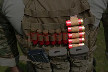 215 Gear Vertical Shotgun Panel