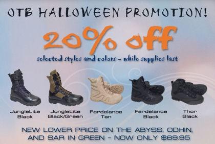 OTB Halloween Sale