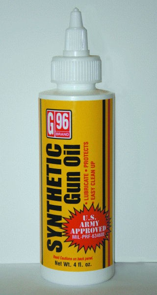 G96 Synthetic Gun Oil
