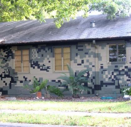 Urban Camo House