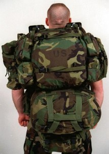 MOLLE Rucksack with Original Pack