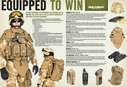 New Zealand Army - Equipped to Win