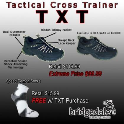 Garmont TXT with Bridgedale Socks