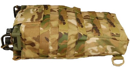 Mayflower AN/PRC-117G Assault Bag - Side View
