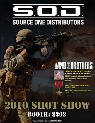 Source One Distributors at SHOT Show