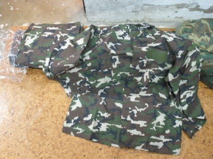 New Spanish Woodland Digital uniform