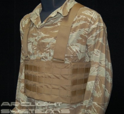 Arclight Systems' Armor Integrated Chest Rig worn in stand alone fashion