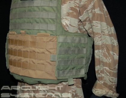 Arclight Systems Armor Integrated Chest Rig