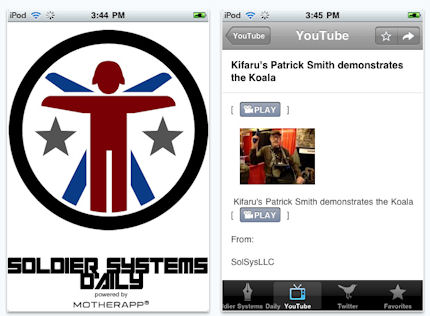 The Soldier Systems Daily iPhone App