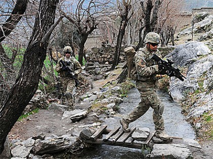 MultiCam on Patrol - Photo from Army Flickr Page