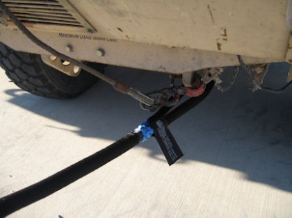 Bulldog Equipment Tow Strap