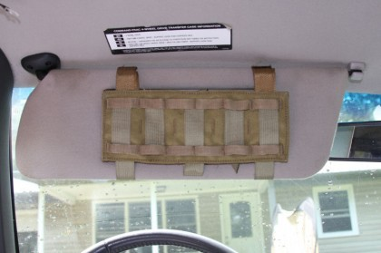 The WAMP Attached to a Sun Visor