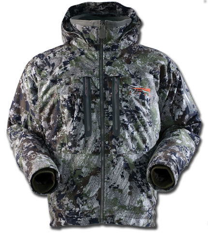 Sitka Incinerator Jacket with Gore OPTIFADE Forest Pattern GORE-TEX