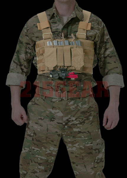 215 Gear RECON Chest Rig - Pockets