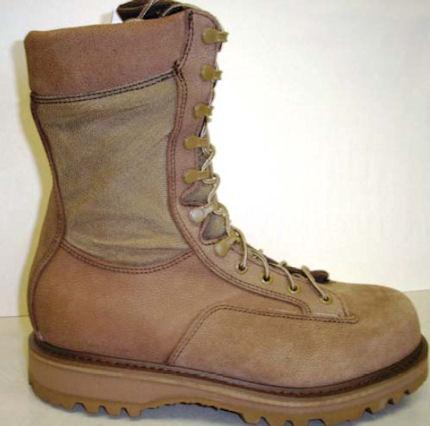 Temperate Combat Boot in Maxi-Brown