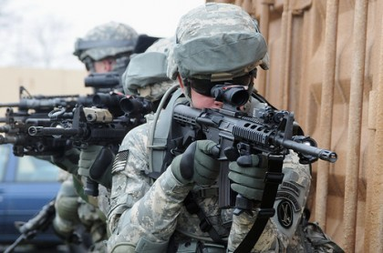 M4 Carbine - Photo US Army PEO-Soldier
