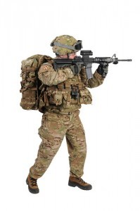 Soldier in MultiCam