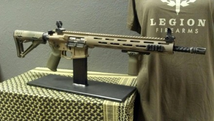 Legion Firearms LF15D ready to go out the door.