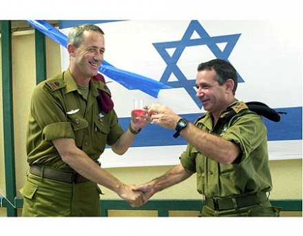 Gen. Avital, on right, will head up new Depth Command
