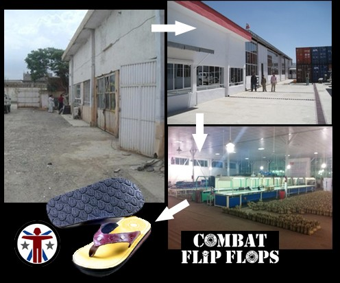 Soldier Systems Daily: The Evolution of the Combat Flip Flop Facility in Afghanistan