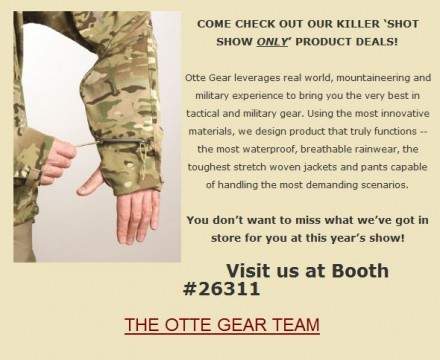 OTTE Gear SHOT Show