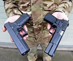 25 Thousand  Glock pistols for UK Armed Forces