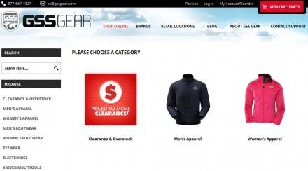 GSS Gear Sale