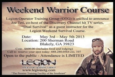 Weekend Warrior Course