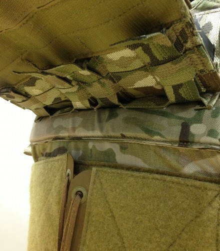 Aero SOF Bav front flap attachment detail