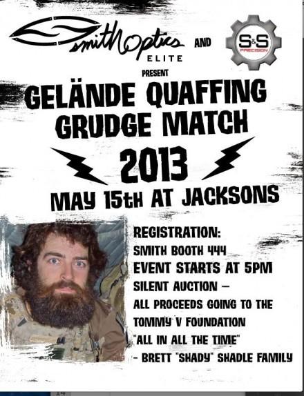 Gelande Quaffing Grudge Match