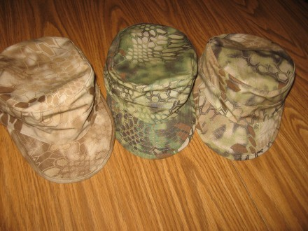 M43s in three Kryptek patterns