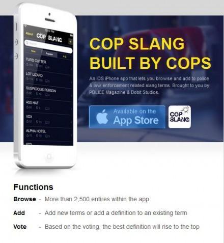 Cop Slang