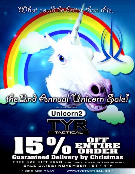 TYR Unicorn Sale