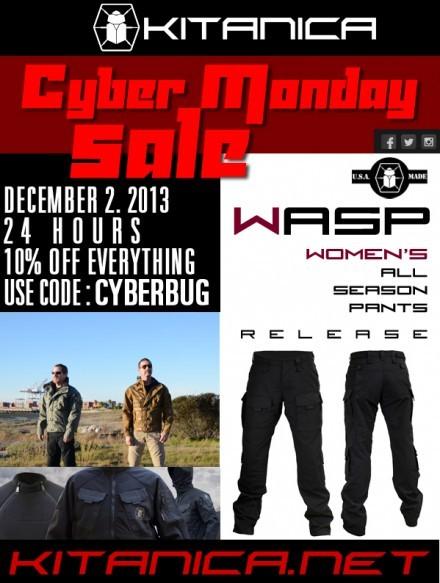 Kitanica Cyber Monday