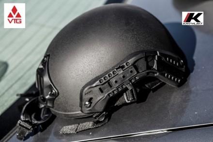 Stingray-ops-core-rails-vas-shroud-ACH-advanced-combat-helmet-ballistic-IIIA-police