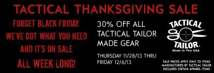 TT Thanksgiving '13 Sale Banner