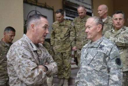 CJCS visit to Afghanistan